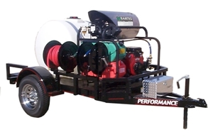 Picture of 5.5 GPM @ 4000 PSI Vanguard 21hp - Hot Water